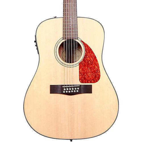 Fender CD-160SE 12-String Acoustic-Electric Guitar Natural