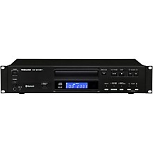 Tascam CD-200BT Professional CD Player with Bluetooth Receiver
