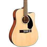 Fender CD-60SCE-12-String Acoustic-Electric Guitar
