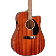 Fender CD-60SCE All-Mahogany Acoustic-Electric Guitar