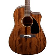 Fender CD60CE All-Mahogany Acoustic-Electric Guitar