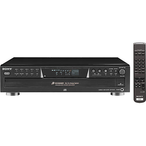 Sony CDP-CE375 5-Disc CD Changer-thumbnail