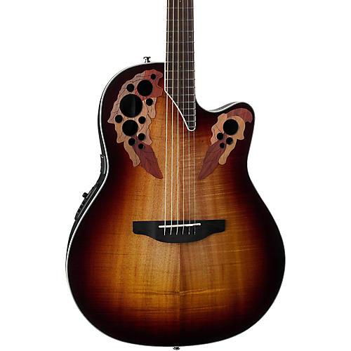 Ovation CE48P Celebrity Elite Plus Acoustic-Electric Guitar Koa Burst-thumbnail