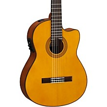 Yamaha CGX122MSC Solid Spruce Top Acoustic-Electric Classical Guitar