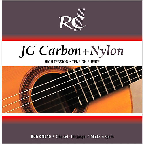 RC Strings CNL40 JG Carbon + Nylon High Tension Nylon Guitar Strings with Carbon 2nd  & 3rd.-thumbnail