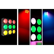 Chauvet CORE 3x3 COB LED Pixel Mapping and Wash Panel w/ interlocking feature