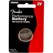 Fender CR2032 3 Volt Button Battery Single