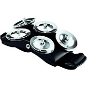 Meinl Cajon Foot Tambourine with Steel Jingles