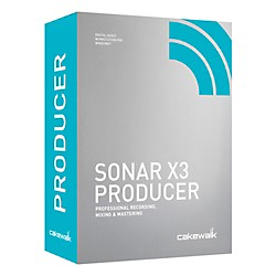 Cakewalk Sonar X3 Producer Edition (CXSP300-10C)