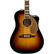 Fender California Series Kingman ASCE Cutaway Dreadnought Acoustic-Electric Guitar