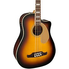 Fender California Series Kingman SCE Cutaway Dreadnought Acoustic-Electric Bass Guitar