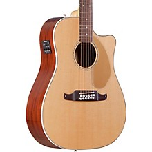 Fender California Series Villager SCE Cutaway Dreadnought 12-String Acoustic-Electric Guitar