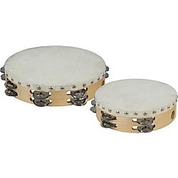 Cannon Percussion Double-Row Tambourine (UPTAMB8D12H)