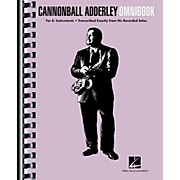 Hal Leonard Cannonball Adderley - Omnibook for E-Flat Instruments