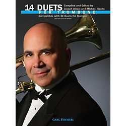 Carl Fischer 14 Duets for Trombone Book (WF76)