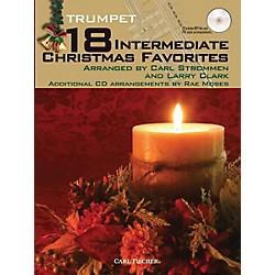Carl Fischer 18 Intermediate Christmas Favorites - Trumpet Book/CD (WF102)