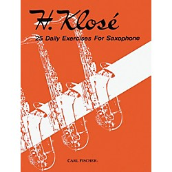 Carl Fischer 25 Daily Exercises For Saxophone Book (O1718)