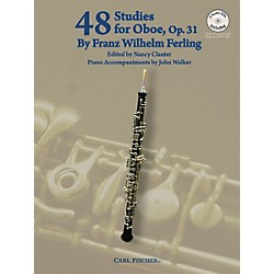 Carl Fischer 48 Studies For Oboe Book/CD (WF56)