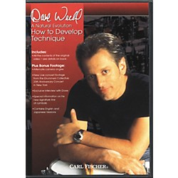 Carl Fischer A Natural Evolution: How to Develop Technique by Dave Weckl DVD (DVD8)