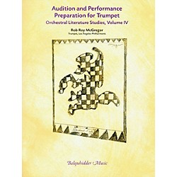 Carl Fischer Audition & Performance Preparation for Trumpet Voulme 4 Book (BQ40)