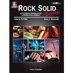 Carl Fischer Camp Jam: Rock Solid for Drums Book/CD (CF00001)
