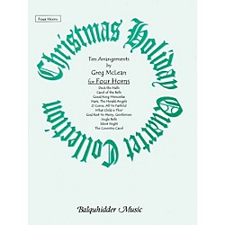 Carl Fischer Christmas Holiday Quartet Collection Book (BQ35)