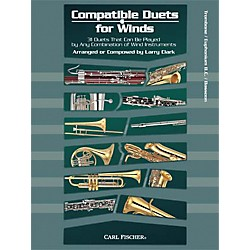 Carl Fischer Compatible Duets for Winds: Trombone/Euphonium B.C. Book (WF96)