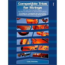 Carl Fischer Compatible Trios for Strings - Bass (Book) (BF86)
