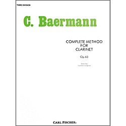 Carl Fischer Complete Method For Clarinet - 3rd Division (O33)