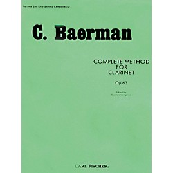 Carl Fischer Complete Method For Clarinet Op.63 - Parts 1 & 2 (O32)