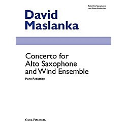 Carl Fischer Concerto for Alto Saxophone and Wind Ensemble (Book + Sheet Music) (W2652)