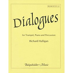 Carl Fischer Dialogues for Trumpet, Piano & Percussion Book (BQ46)