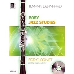 Carl Fischer Easy Jazz Studies For Clarinet Book (UE035996)