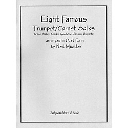 Carl Fischer Eight Famous Trumpet / Cornet Solos Arranged in Duet Form Book (BQ102)