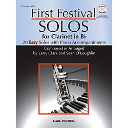 Carl Fischer First Festival Solos for Clarinet (20 Easy Solos with Piano Accompaniments) (WF121)