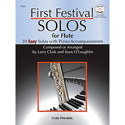 Carl Fischer First Festival Solos for Flute (20 Easy Solos with Piano Accompaniments) (WF120)
