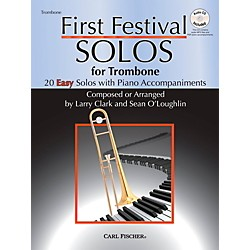Carl Fischer First Festival Solos for Trombone (20 Easy Solos with Piano Accompaniments) (WF124)