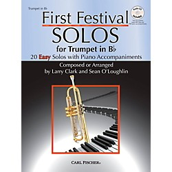 Carl Fischer First Festival Solos for Trumpet (20 Easy Solos with Piano Accompaniments) (WF123)
