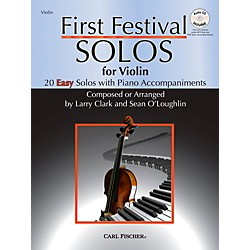 Carl Fischer First Festival Solos for Violin (20 Easy Solos with Piano Accompaniments) (BF68)
