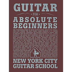 Carl Fischer Guitar For Absolute Beginners (Book) (NYC1)