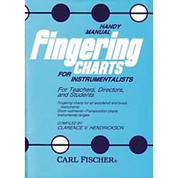 Carl Fischer Handy Manual Fingering Charts For Instrumentalists (O3876)