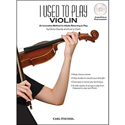 Carl Fischer I Used To Play Violin Book/CD (BF31)