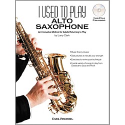 Carl Fischer I Used to Play Alto Sax Book/CD (WF116)