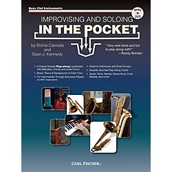 Carl Fischer Improvising And Soloing In the Pocket (For Bass Clef Instruments) - Book/CD (WF146)