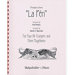 Carl Fischer La Peri, Fanfare from Book (BQ71)