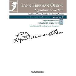 Carl Fischer Lynn Freeman Olson Collection for Piano (Book + CD) (PL1030)