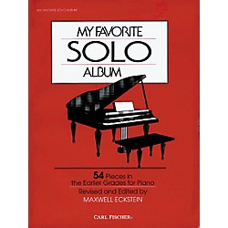 Carl Fischer My Favorite Solo Album Book (O3223)