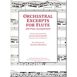 Carl Fischer Orchestral Excerpts For Flute (414-41171)