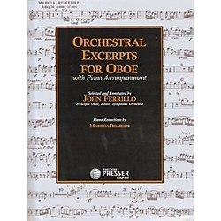 Carl Fischer Orchestral Excerpts For Oboe Book (414-41189)