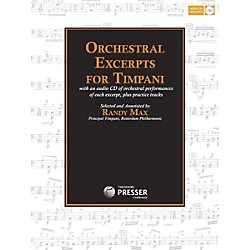 Carl Fischer Orchestral Excerpts For Timpani (414-41194)